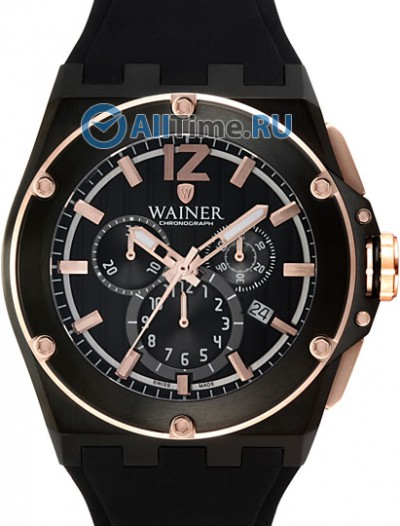 Мужские наручные швейцарские часы в коллекции Zion Wainer