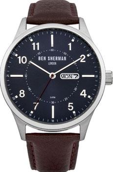 fashion наручные  мужские часы Ben Sherman WB002BR. Коллекция Spitalfields Day-Date