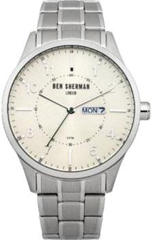fashion наручные  мужские часы Ben Sherman WB002SM. Коллекция Spitalfields Day-Date
