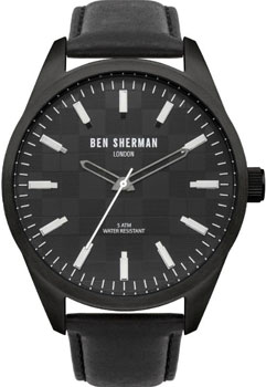 fashion наручные  мужские часы Ben Sherman WB007B. Коллекция Big Carnaby Check