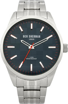 fashion наручные  мужские часы Ben Sherman WB007BM. Коллекция Big Carnaby Check
