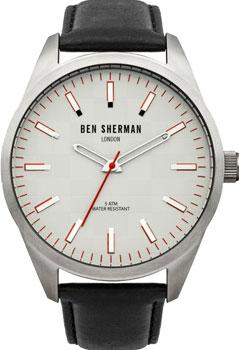 fashion наручные  мужские часы Ben Sherman WB007S. Коллекция Big Carnaby Check