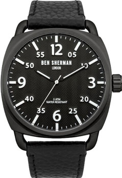 fashion наручные  мужские часы Ben Sherman WB008B. Коллекция Covent Herringbone