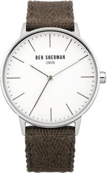 fashion наручные  мужские часы Ben Sherman WB009GR. Коллекция Portabello Social