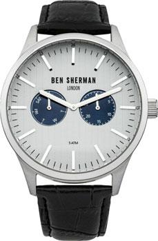 fashion наручные  мужские часы Ben Sherman WB024S. Коллекция Spitalfields Social