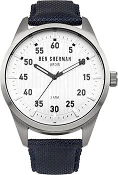 fashion наручные  мужские часы Ben Sherman WB031U. Коллекция Carnaby Outdoor