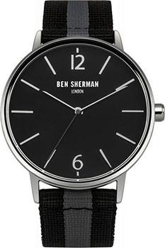 fashion наручные  мужские часы Ben Sherman WB044B. Коллекция Portobello Stripe