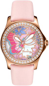 Швейцарские наручные  женские часы Blauling WB2110-01S. Коллекция Papillon I