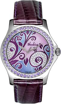 Швейцарские наручные  женские часы Blauling WB2111-01S. Коллекция Floral Dance