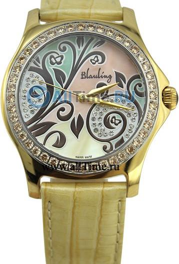 Женские наручные швейцарские часы в коллекции Flower Blauling
