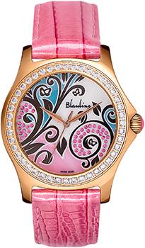Швейцарские наручные  женские часы Blauling WB2111-04S. Коллекция Floral Dance