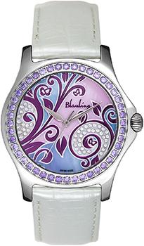 Швейцарские наручные  женские часы Blauling WB2111-05S. Коллекция Floral Dance