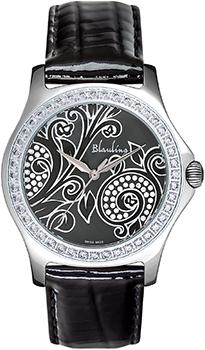 Швейцарские наручные  женские часы Blauling WB2111-06S. Коллекция Floral Dance