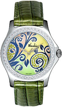 Швейцарские наручные  женские часы Blauling WB2111-07S. Коллекция Floral Dance