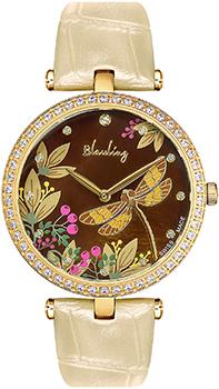 Швейцарские наручные  женские часы Blauling WB2118-01S. Коллекция Libellule