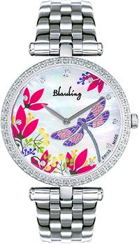 Швейцарские наручные  женские часы Blauling WB2118-04S. Коллекция Libellule