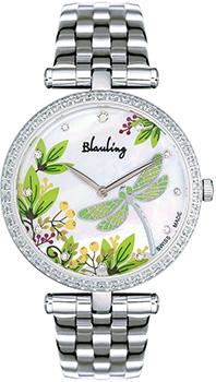 Швейцарские наручные  женские часы Blauling WB2118-05S. Коллекция Libellule
