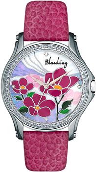 Швейцарские наручные  женские часы Blauling WB2120-01S. Коллекция Flora