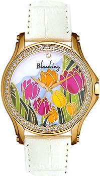 Швейцарские наручные  женские часы Blauling WB2120-03S. Коллекция Flora