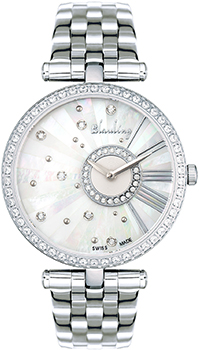 Швейцарские наручные  женские часы Blauling WB2615-11S. Коллекция Bless