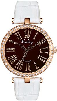 Швейцарские наручные  женские часы Blauling WB2618-02S. Коллекция Glass Art