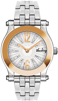 Швейцарские наручные  женские часы Blauling WB2902-04S. Коллекция Crystal