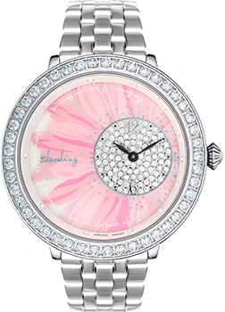 Швейцарские наручные  женские часы Blauling WB3113-05S. Коллекция SunFlower
