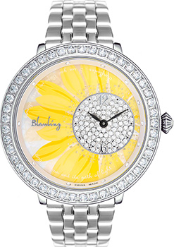 Швейцарские наручные  женские часы Blauling WB3113-06S. Коллекция SunFlower