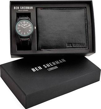 fashion наручные  мужские часы Ben Sherman WBG050BB. Коллекция Portobello Professional