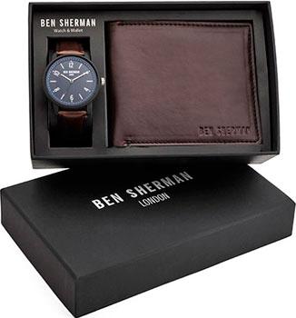 fashion наручные  мужские часы Ben Sherman WBG050UBR. Коллекция Portobello Professional