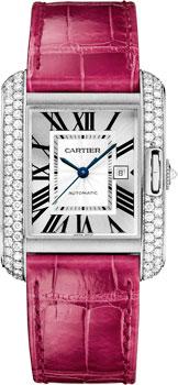 Швейцарские наручные  женские часы Cartier WT100018