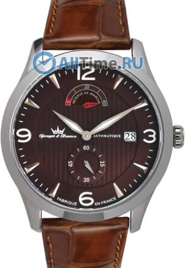 Мужские наручные часы в коллекции De Vigny Yonger&Bresson