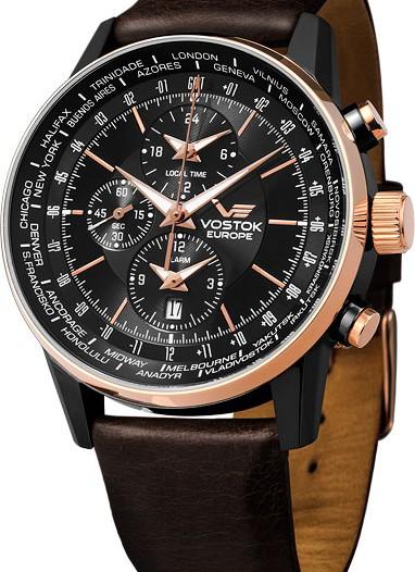 Мужские российские часы в коллекции Gaz-14 Limouzine Vostok Europe