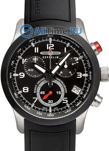 Мужские наручные немецкие часы в коллекции Night Cruise Zeppelin