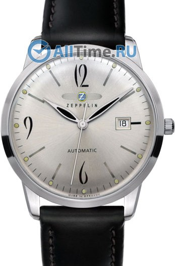 Мужские наручные немецкие часы в коллекции Flatline Zeppelin