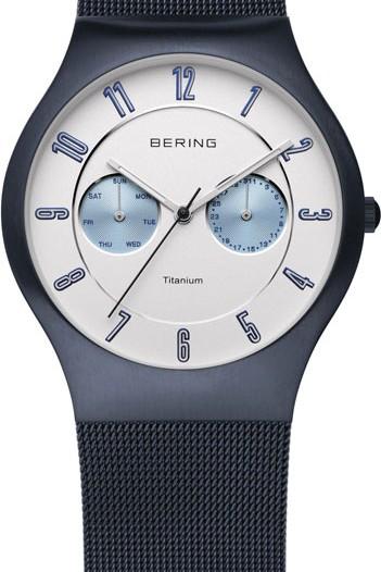Мужские наручные часы в коллекции Titanium Bering